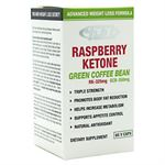 Picture of 4 Dimension Nutrition Raspberry Ketone + Green Coffee Bean