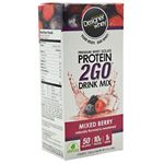 Picture of Designer Protein Premium Whey Isolate Protein 2Go Mixed Berry 5 ea