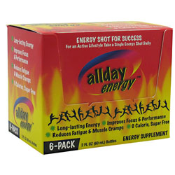 All Day Energy 2oz 6/box