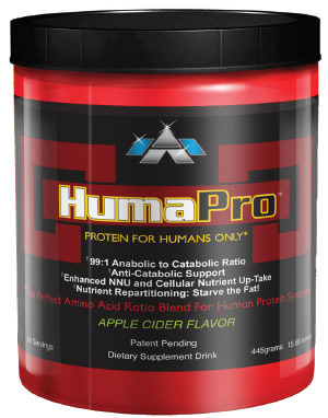 Humapro Powder Apple Cider